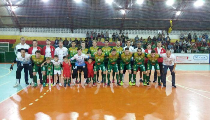 56dea0d6d8 O Estadual da Liga Catarinense de Futsal tem um novo líder. Na oitava  rodada